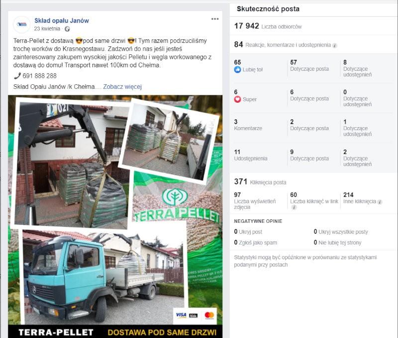 prowadzenie fanpage facebook - agencja social media lublin